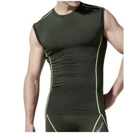 Tesla Men's Cool Dry Compression Sleeveless R15
