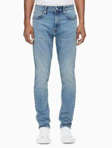 Calvin Klein Men's Straight Fit Denim Jeans