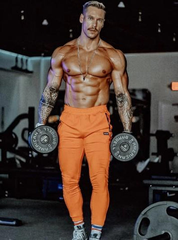 Size Up Fire Orange Welter Weight 2.0 Jogger