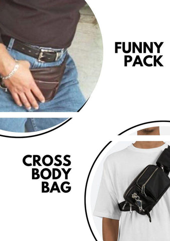Fanny packs and Cross-body bags