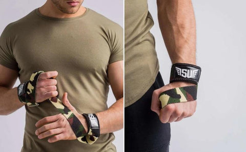 Camo Weight lifting Strap