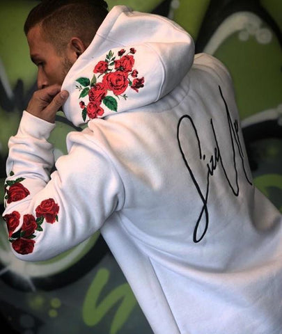 Size Up Signature Rose Hoodie