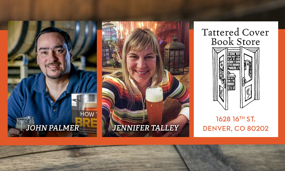 Join John J. Palmer & Jennifer Talley for How to Brew Session Beers