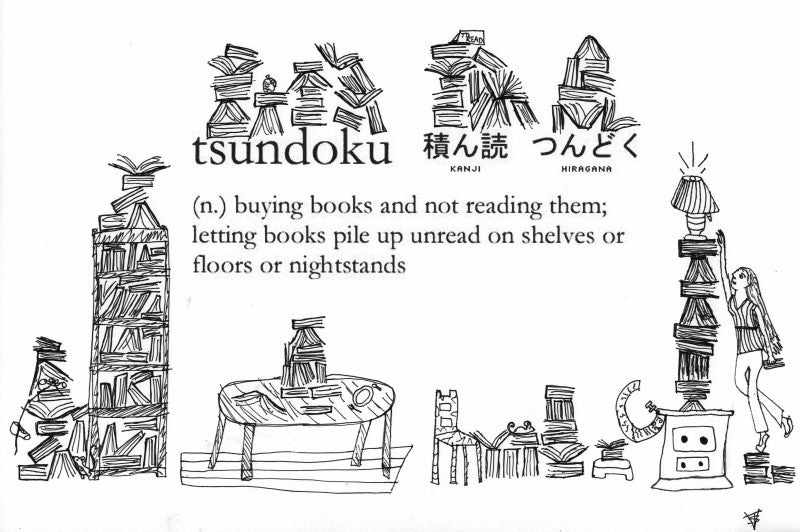 Do You Suffer From Tsundoku?