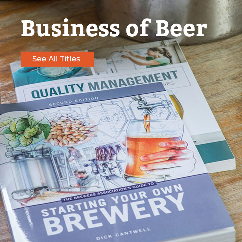 brewers publications leading publisher of books on beer