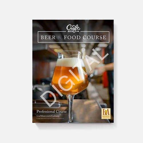 CraftBeer.com Beer & Food Professional Course Manual - DIGITAL VERSION