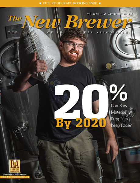 <i>The New Brewer Magazine</i> 2015 Issues