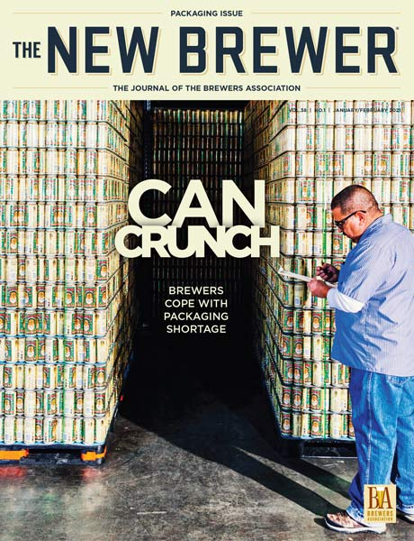 <i>The New Brewer Magazine</i> 2021 Issues