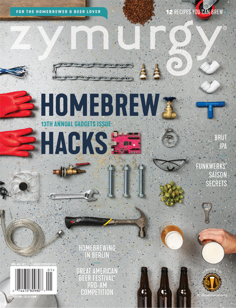<i>Zymurgy Magazine</i> 2019 Issues