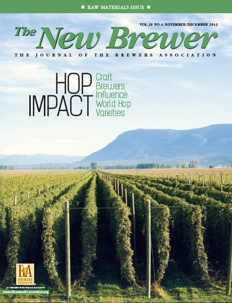 <i>The New Brewer Magazine</i> 2013 Issues