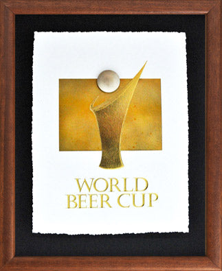 World Beer Cup Covered Shadow Box
