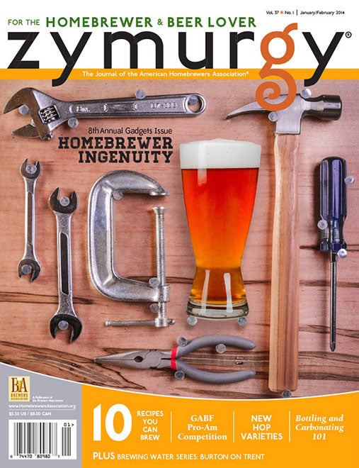 <i>Zymurgy Magazine</i> 2014 issues