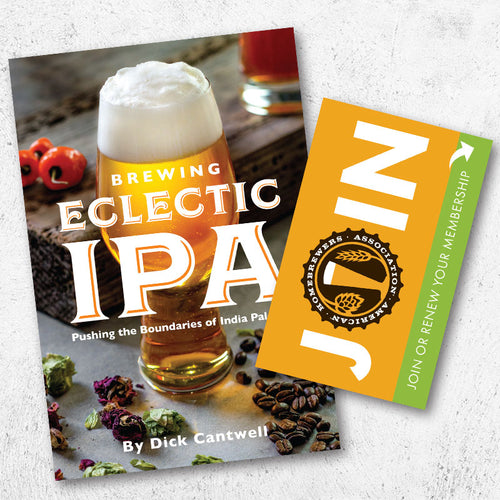 Brewing Eclectic IPA + One-Year AHA Membership Gift Card