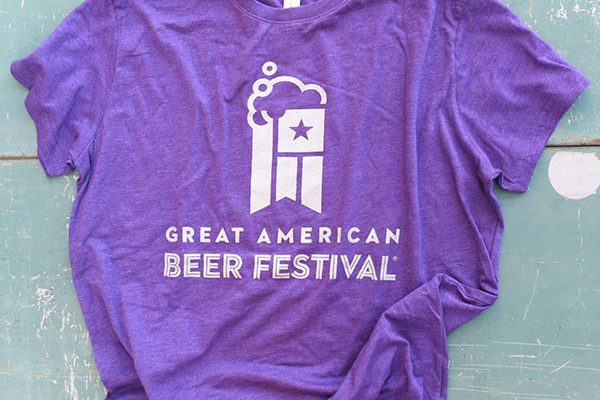 Great American Beer Festival Logo Shirt - Women's