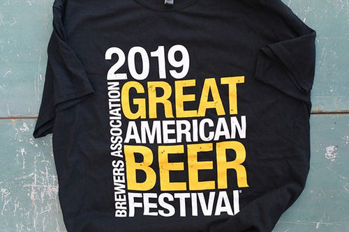 Great American Beer Festival 2019 Concert Shirt - XXL