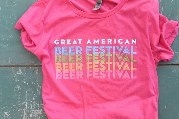 Great American Beer Festival Cascade Shirt - Women's