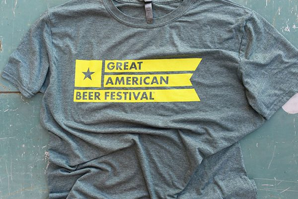 Great American Beer Festival Flag Shirt XXL