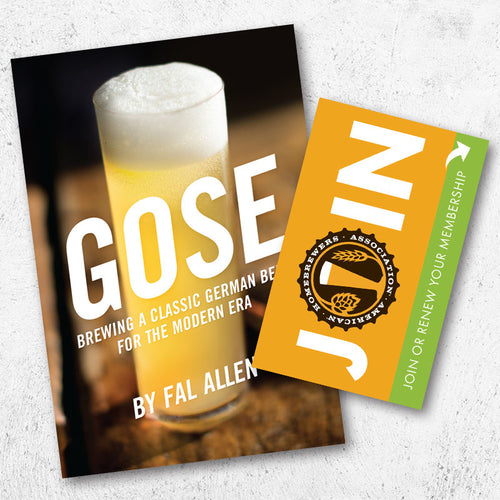 Gose + One-Year AHA Membership Gift Card