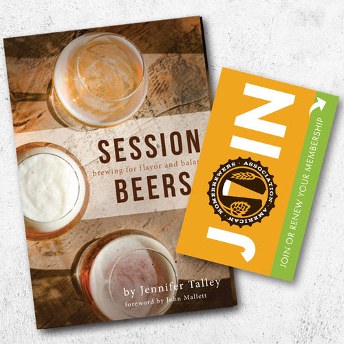 Session Beers + One-Year AHA Membership Gift Card