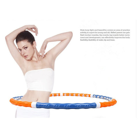 Removable Magnetic Massage Hula Hoop