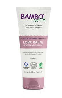 Bambo Nature Baby Love Balm Soothing Cream Logo
