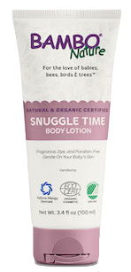 Bambo nature Baby Snuggle Time Body Lotion Image