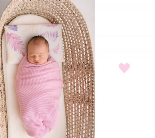 Bamboo Knitted Swaddle - Royal Label