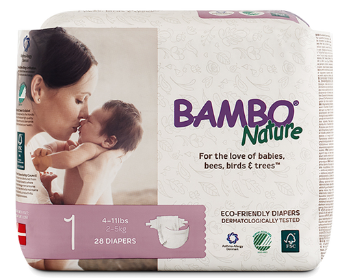 bambo nature baby diapers size 1