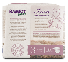 bambo nature baby diapers size 3 back