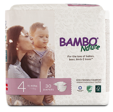 bambo nature baby diapers size 4