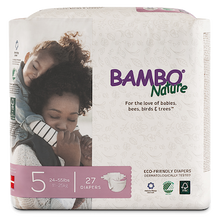 bambo nature baby diapers size 5