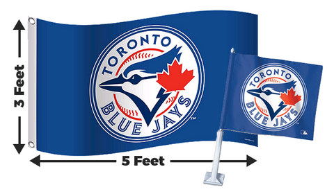 2 for 1 Toronto Blue Jays Flag Bundle