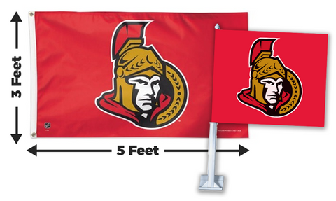 2 for 1 Ottawa Senators Flag Bundle