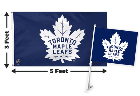 2 for 1 Toronto Maple Leafs Flag Bundle