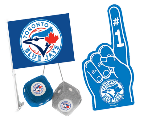 3 for 1 Toronto Blue Jays Fan Bundle