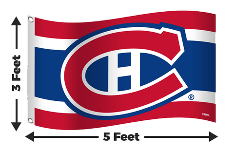 Montreal Canadiens 3x5 Flag