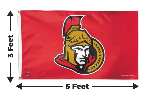Ottawa Senators 3x5 Flag