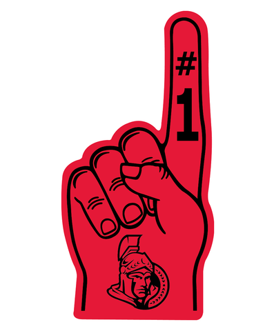 Ottawa Senators Foam Finger