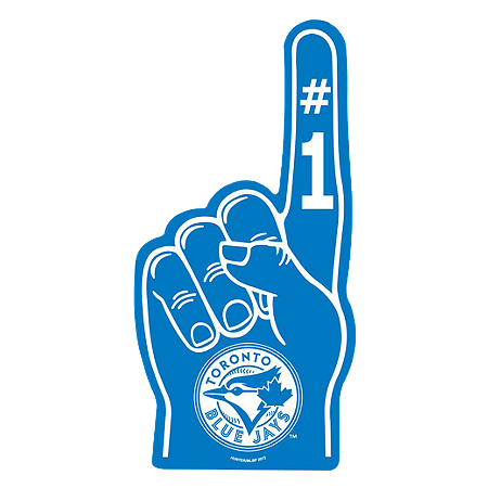 Toronto Blue Jays Foam Finger