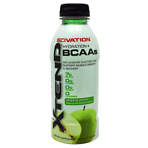 Scivation Xtend RTD - Green Apple - 12 Bottles - 812135020507