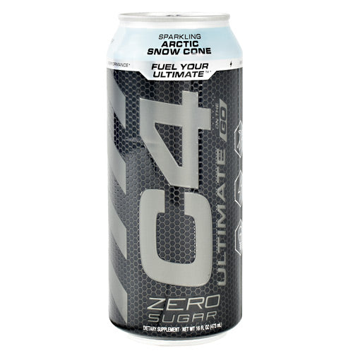 Cellucor Ultimate C4 On the Go - Sparkling Arctic Snow Cone - 12 Cans - 842595106626