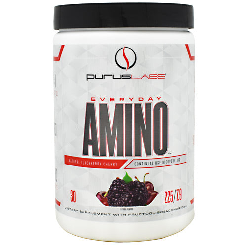 Purus Labs Everyday Amino - Blackberry Cherry - 30 Servings - 855734002796