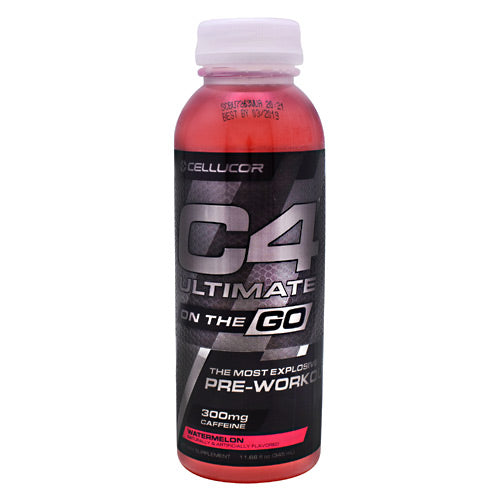Cellucor Ultimate C4 On the Go - Watermelon - 12 Bottles - 842595102611
