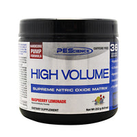 PEScience High Volume - Raspberry Lemonade - 18 Servings - 040232199417