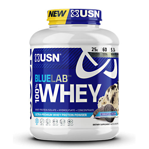 Usn Blue Lab 100% Whey - Cookies & Cream - 4.5 lb - 6009706099527