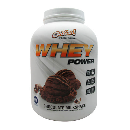 ISS Research Oh Yeah! Whey Power - Chocolate Milkshake - 5 lb - 788434108591
