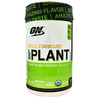 Optimum Nutrition Gold Standard 100% Plant Protein - Chocolate - 19 Servings - 748927056594
