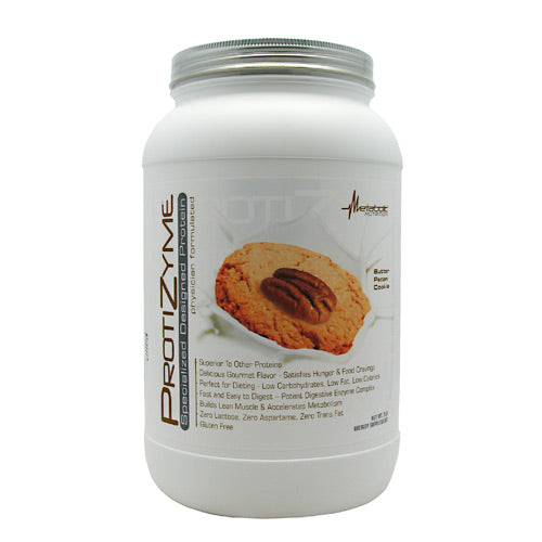 Metabolic Nutrition Protizyme - Butter Pecan Cookie - 2 lb - 764779771898