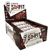 Sinister Labs Sinfit Bar - Chocolate Crunch - 12 ea - 853698007284