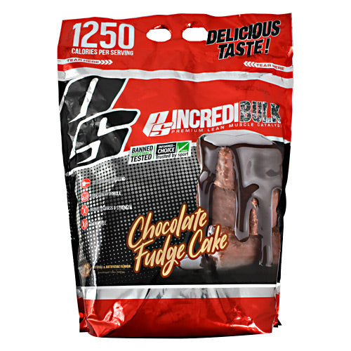 Pro Supps IncrediBulk - Chocolate Fudge Cake - 12 lb - 700254412757